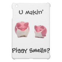Smelly Pink Pigs Cover For The iPad Mini