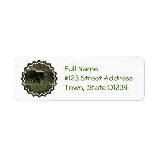 Smelly Skunk Mailing Label