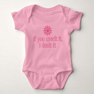 Smelt It Baby Bodysuit