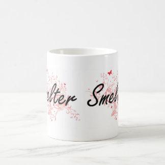 Smelter Artistic Job Design with Butterflies Coffee Mug