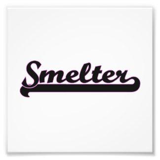 Smelter Classic Job Design Photo Print
