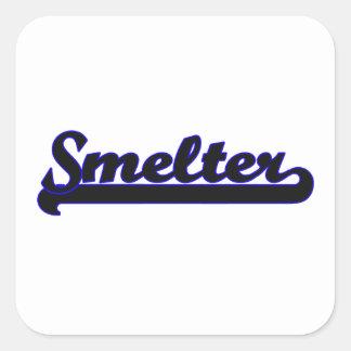 Smelter Classic Job Design Square Sticker