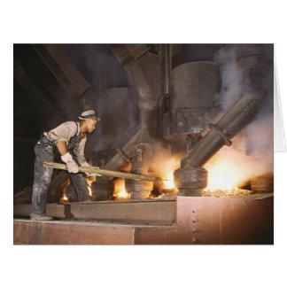 Smelting Furnace 1942 Card