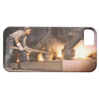 Smelting Furnace 1942 iPhone SE/5/5s Case