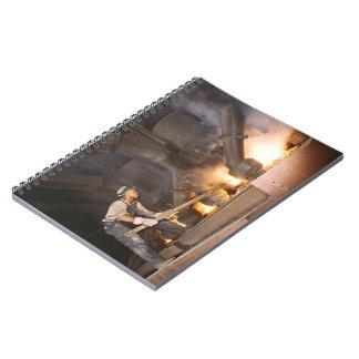 Smelting Furnace 1942 Spiral Notebook