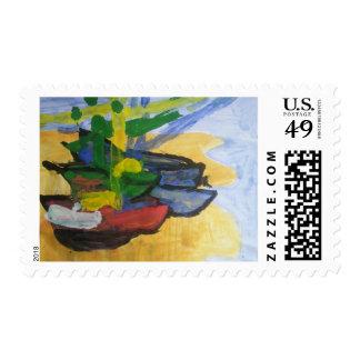 "Smeraldo Gallery ""Fishing Boats"" Postage"