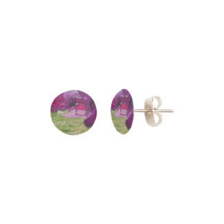 """Smeraldo Gallery """"Orchard Blossoms"""" Collection Earrings"""