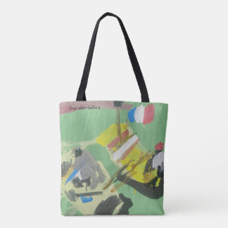 """Smeraldo Gallery """"Quay on the Barge"""" Tote Bag"""