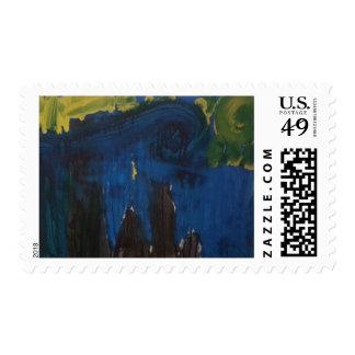 """Smeraldo Gallery """"Starry Night"""" Postage"""