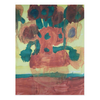 "Smeraldo Gallery ""Sunflower Interpretation"" Postcard"