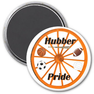 Smethport Hubber Sports Supporter Magnet
