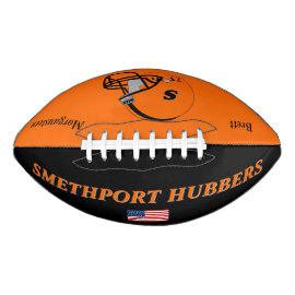 Smethport Hubbers Team Colors Personalized Player Football