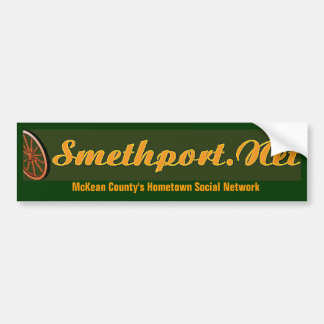 Smethport Net Bumper Sticker Car Bumper Sticker