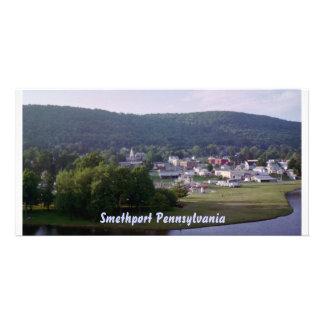 Smethport Pennsylvania Postcard Photo Card Template