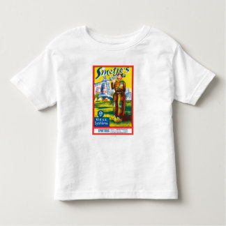 Smetje's Wine LabelEurope Toddler T-shirt
