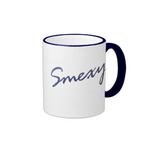 Smexy y yo lo sabemos taza de dos colores