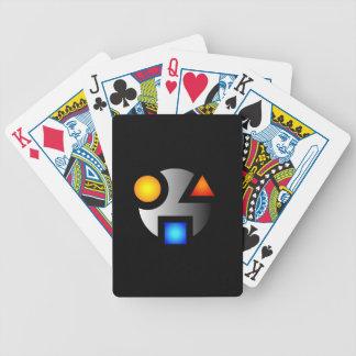 SMI cryptic logo playing cards