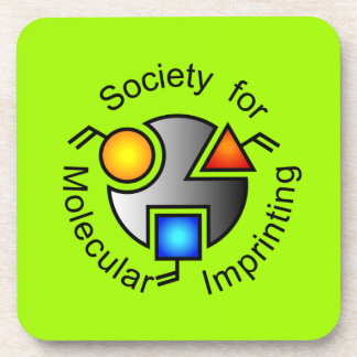 SMI logo coasters green