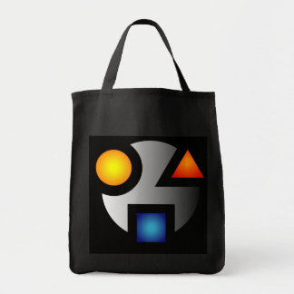 SMI logo impulse tote cryptic Canvas Bags