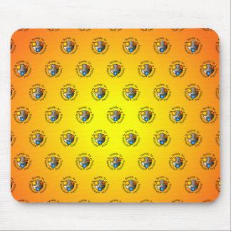 SMI logo mousepad orange tiled