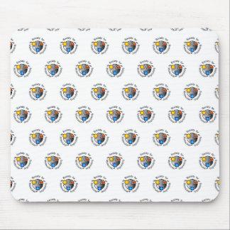 SMI logo mousepad white tiled