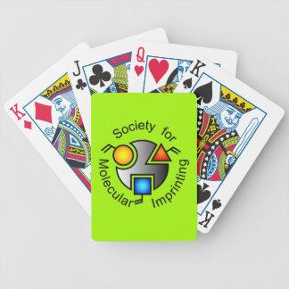SMI logo playing cards green