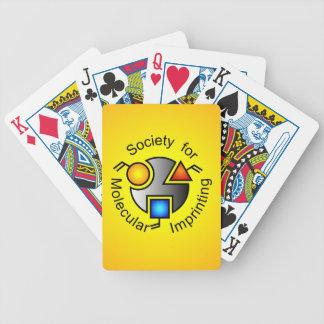 SMI logo playing cards orange