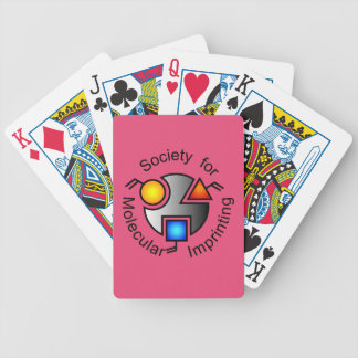 SMI logo playing cards red