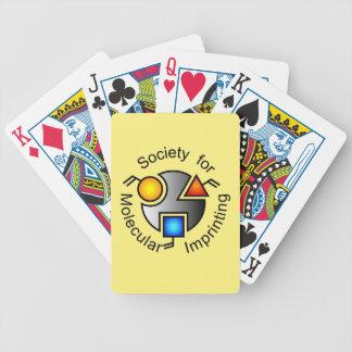 SMI logo playing cards yellow