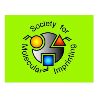 SMI logo postcard green