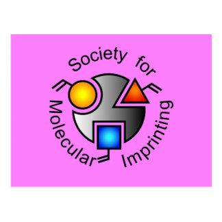SMI logo postcard pink