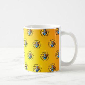 SMI mug orange tiled