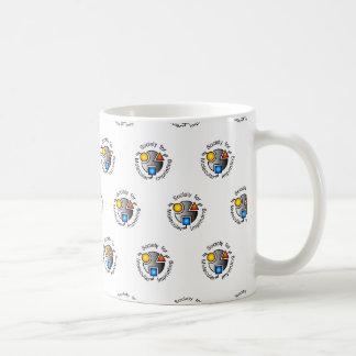 SMI mug white tiled