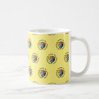 SMI mug yellow tiled