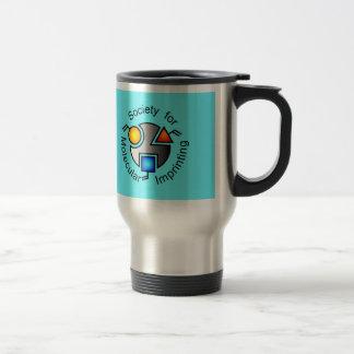 SMI travel mug blue