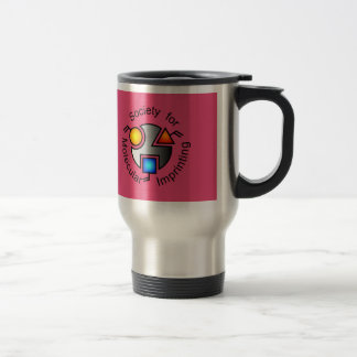 SMI travel mug red