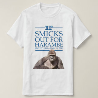 Smicks Out for Harambe T-Shirt