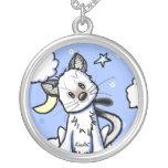 Smidge Kitty Moon & Stars Necklace