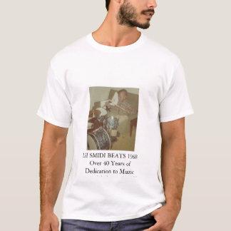 Smidi Drums_edited, Lil SMIDI BEATS 1968Over 40... T-Shirt