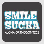 Smila Sucka Aloha Ortho Stickers