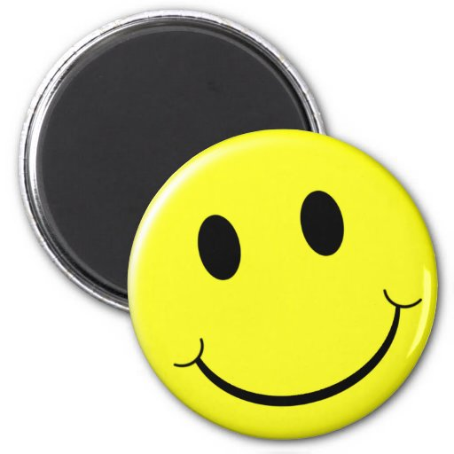 Smile! 2 Inch Round Magnet
