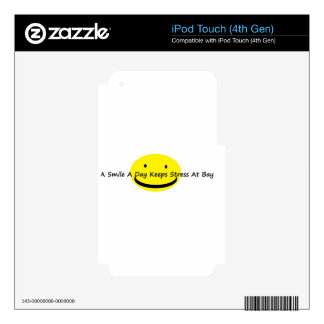 smile a day jpg skins for iPod touch 4G