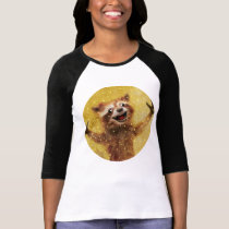 Smile.  A raccoon is grabbing your hooters T-Shirt