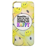 Smile and be Happy iPhone 5 Covers