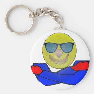 Smile and Hugs Key Chain