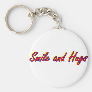 Smile and Hugs Keychains
