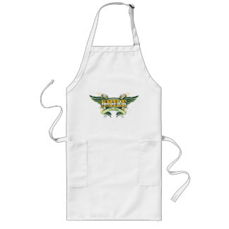 Smile and Let it Go Wings Long Apron