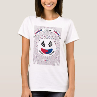 Smile and smiles Graphic Flag T-Shirt