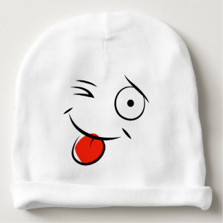 Smile and Wink Baby Hat
