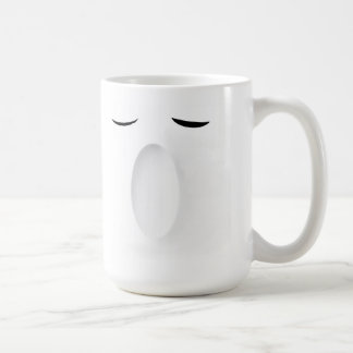 Smile and Yawn Coffee Mug